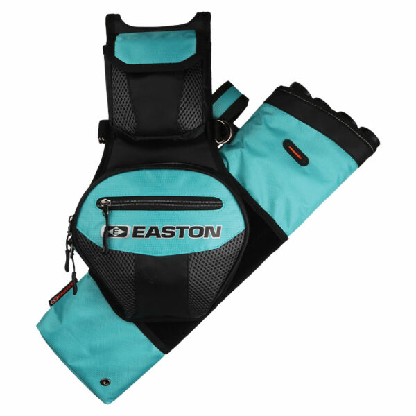 Easton Flipside 4 tube Hip Quiver Teal