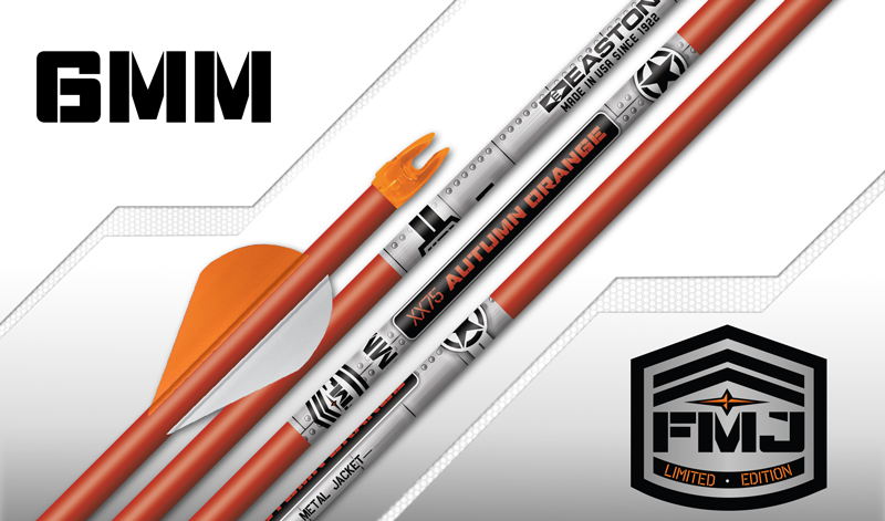 Easton Arrows FMJ Autumn Orange