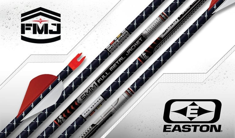 Easton Hunting Arrows - 5mm Full Metal Jacket Match Grade FMJ