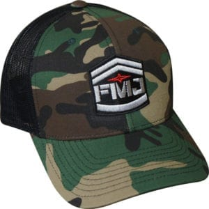 Easton FMJ Woodland Camo Hat