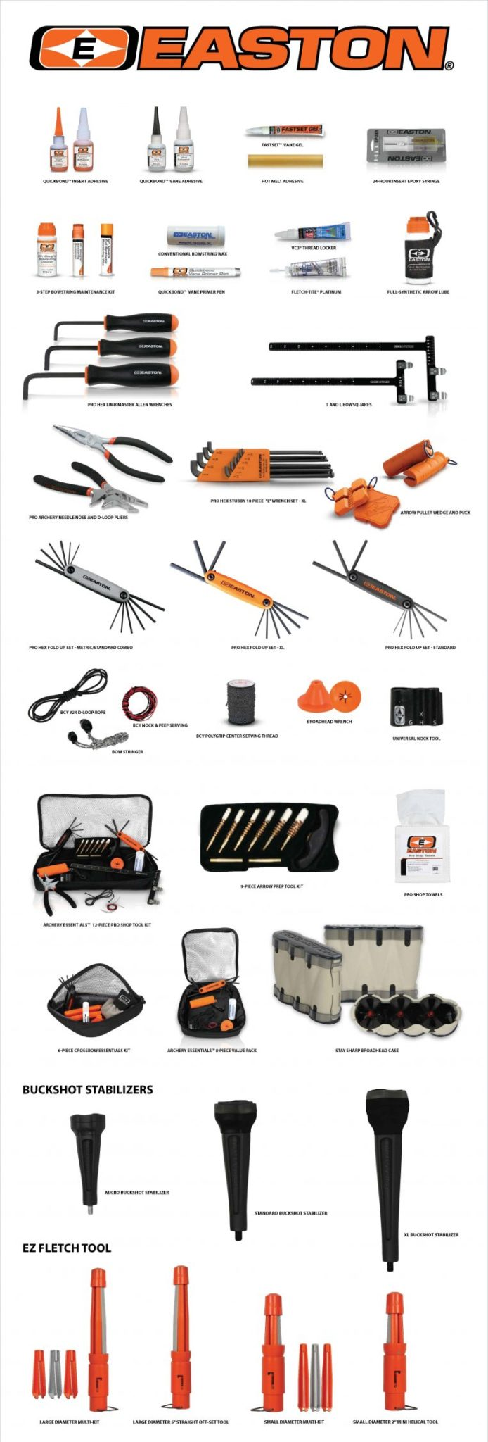 Easton Tools & Accessories