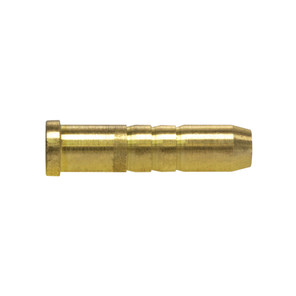 Brass Crossbow Inserts 100 Grain Dozen Bag