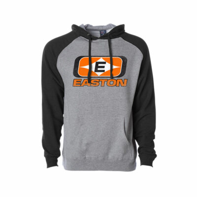 Diamond E Logo Gray and Black Easton Hoodie