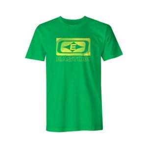 Diamond E Logo Green Short Sleeve Easton Shirt