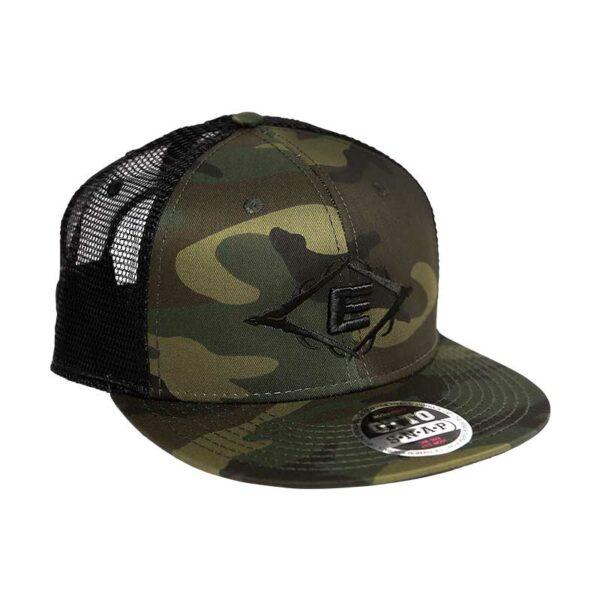 Easton Antler E Woodland Camo Flat Brim Otto Hat