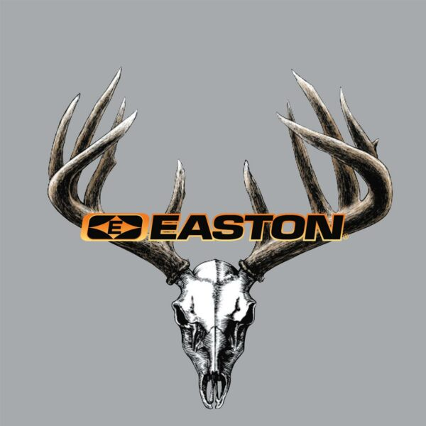 "Easton Archery DECALS - Easton Color Skull and Rack 5.5"" x 4.25"""