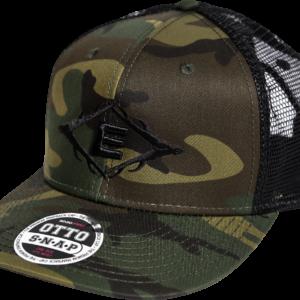 Easton Antler E Woodland Camo Flat Brim Otto Snapback Hat