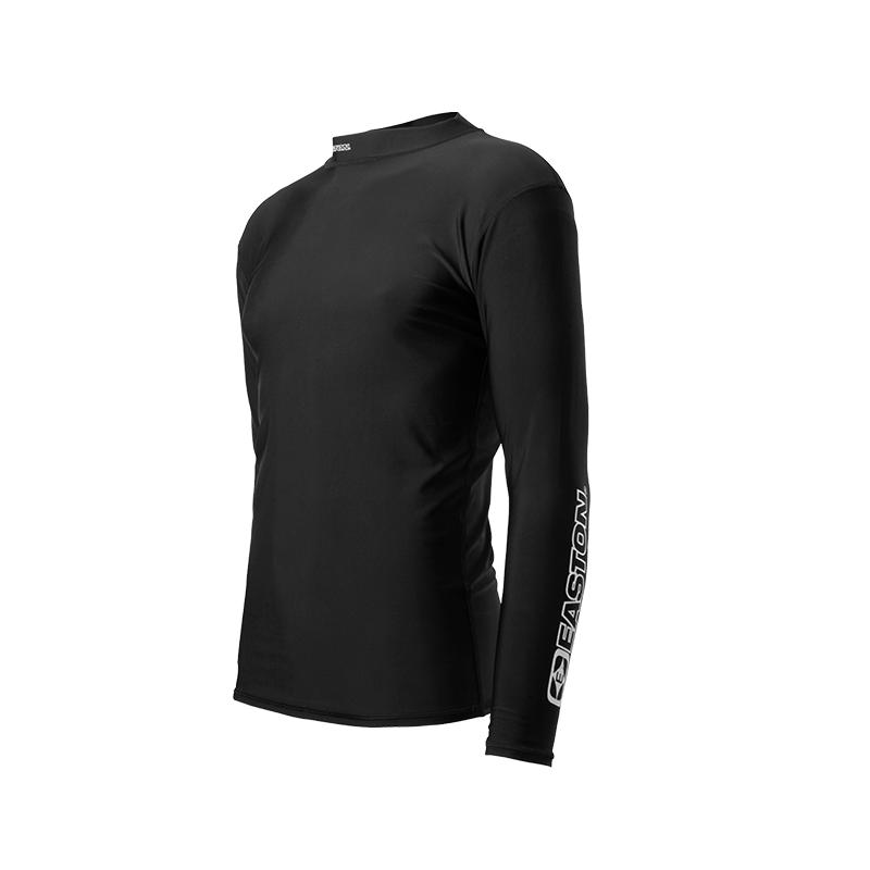 Compression Shirt Long Sleeve Black Easton Archery