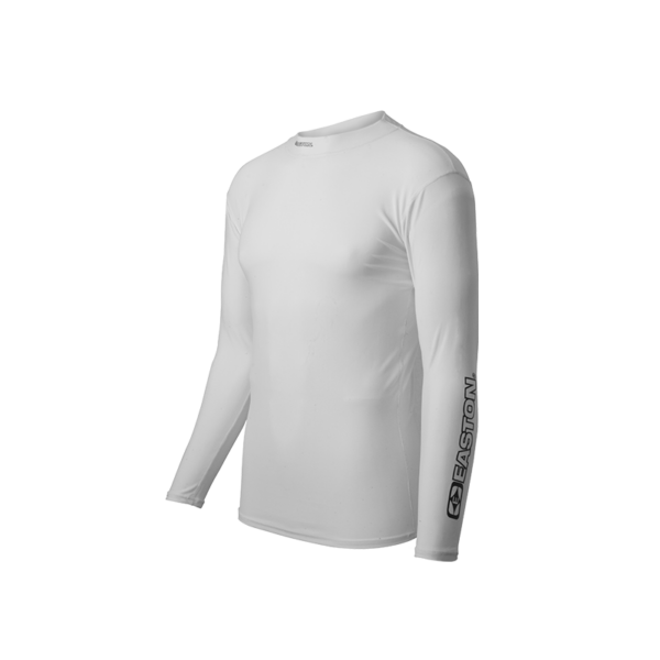 Compression Shirt, Long Sleeve, White