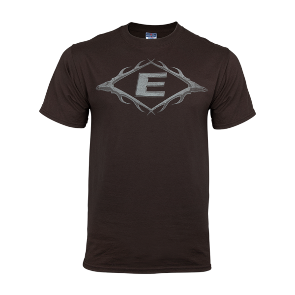 Easton Hunting Apparel - Vintage Antler E Tee Brown