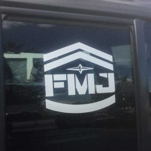 FMJ Window Decal LG