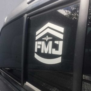 FMJ Window Decal LG