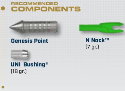 Components for the Genesis Aluminum Arrow