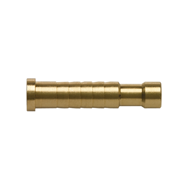 FMJ Bolt HP Brass Inserts 120 Grain Dozen Bag