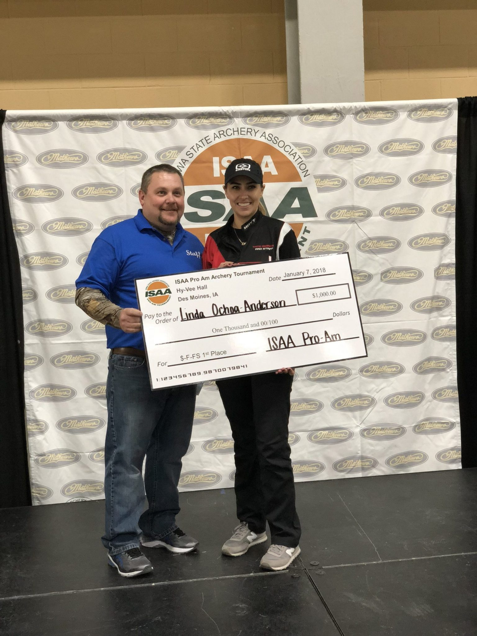 Linda Ochoa-Anderson wins first major indoor of 2018 with X23