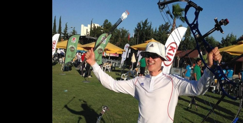 KOREA'S FIRST COMPOUND GOLD MEDAL CONTENDER AT A WORLD EVENT