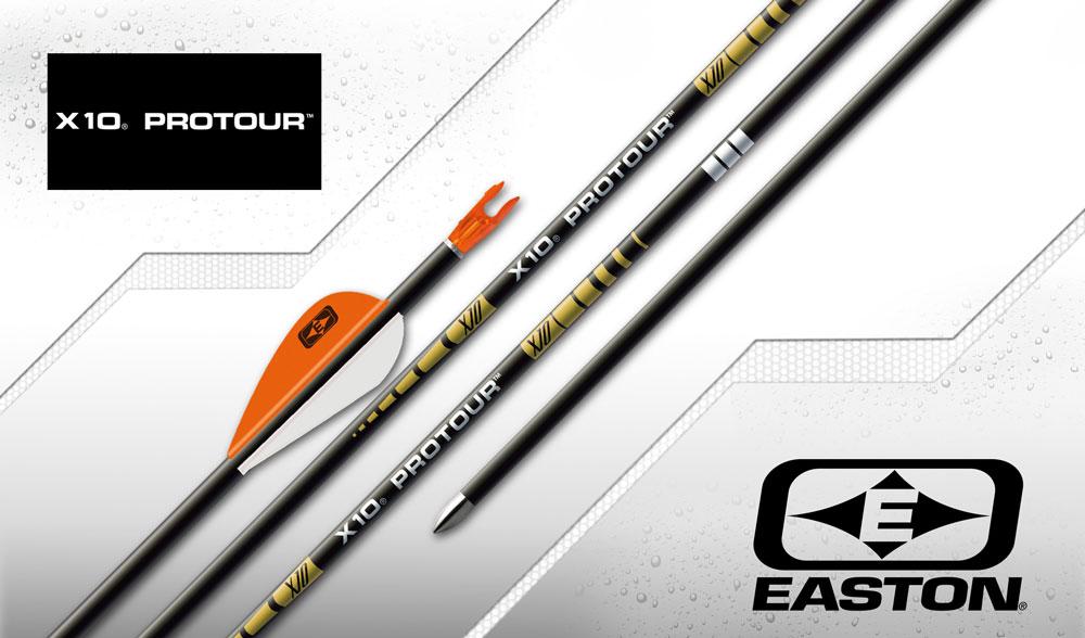 Easton Target Arrows - x10 Protour