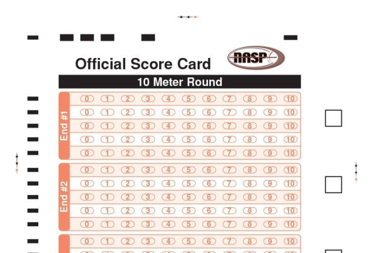 Easton Archery - NASP Score Card