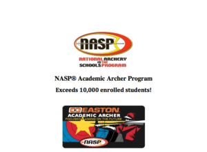 NASP Academic Archery Program Exceeds 10,000