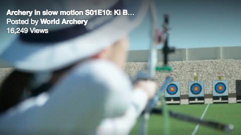Ki Bo Bae - Easton Archery in Slow Motion