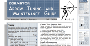 Easton Arrow Tuning Guide