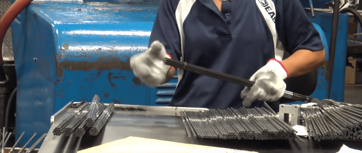 How Arrows Are Made – A look at the Easton Archery factory