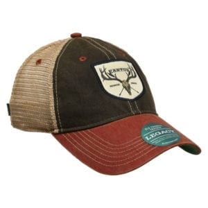 Easton Legacy 95 Year Skull Trucker Hat