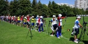 WINDY CONDITIONS DOMINATED BY THE ARROW DESIGNED FOR THE WIND AT WORLD CUP