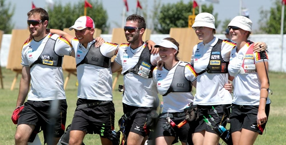 GERMAN TEAMS WILL SHOOT FOR GOLD AT EUROPEAN CHAMPIONSHIP