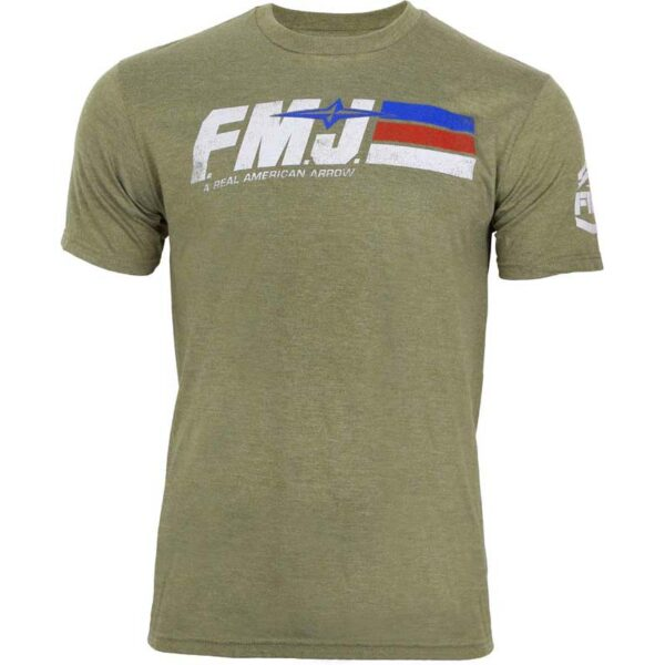 FMJ Flag Stripes Short Sleeve Tee