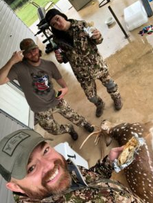 Sarah Laughter Hunting Axis Deer in Texas