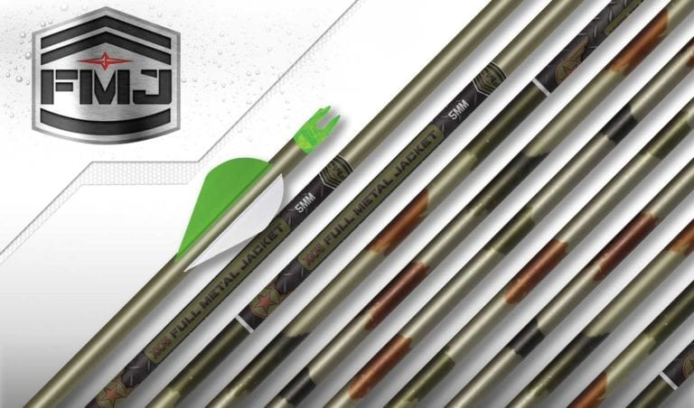 Easton Archery - 5mm FMJ Woodland Camo Hunter Arrows