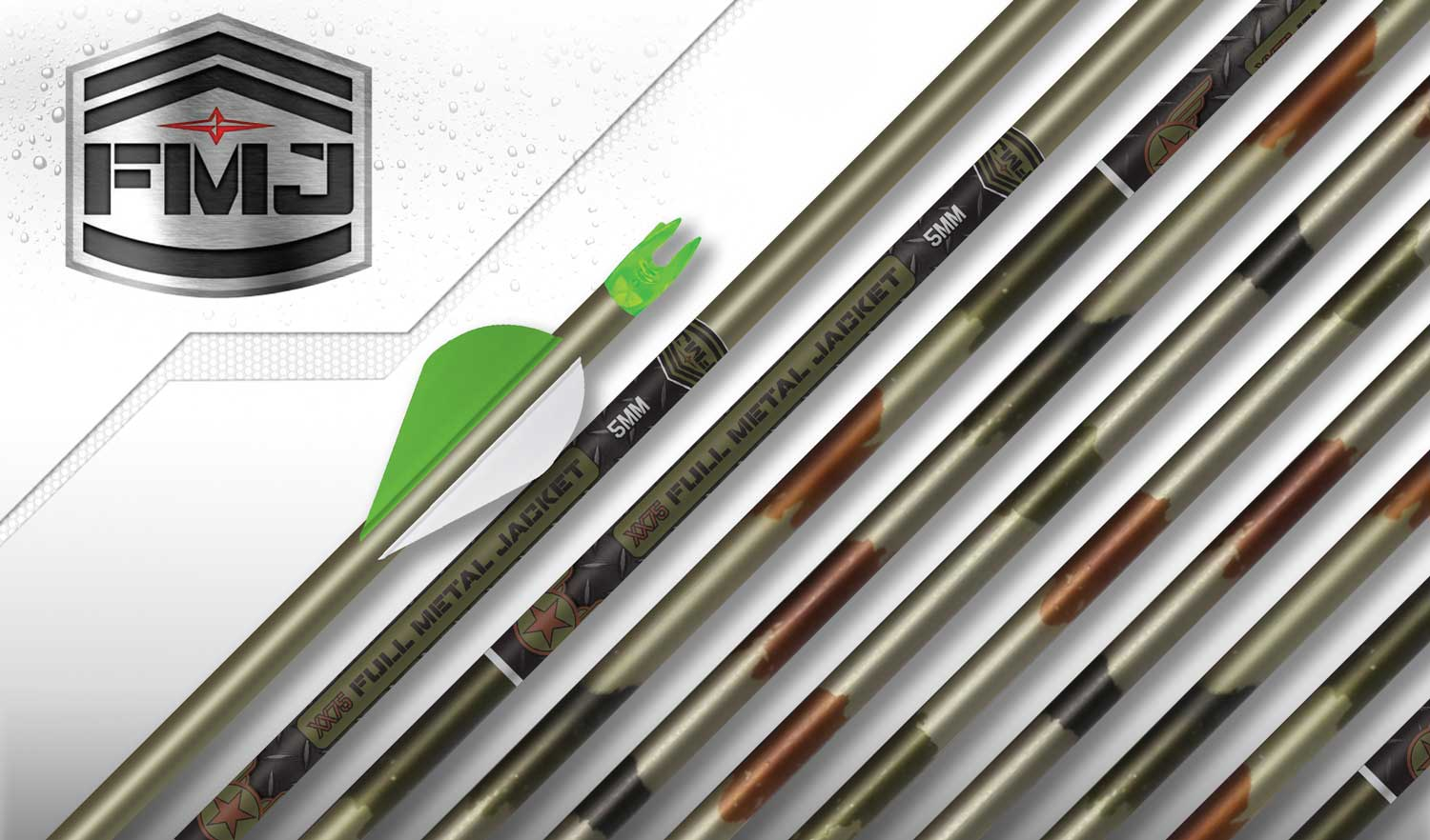 Easton 5mm FMJ Retro XX75 Camo Hunter Arrow – Available for a Limited Time