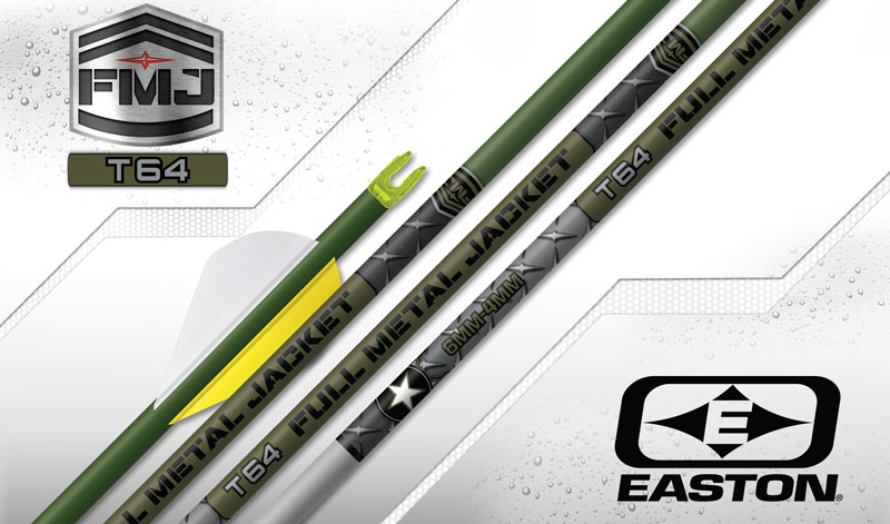 Easton Arrows - FMJ T64 Tapered Arrows
