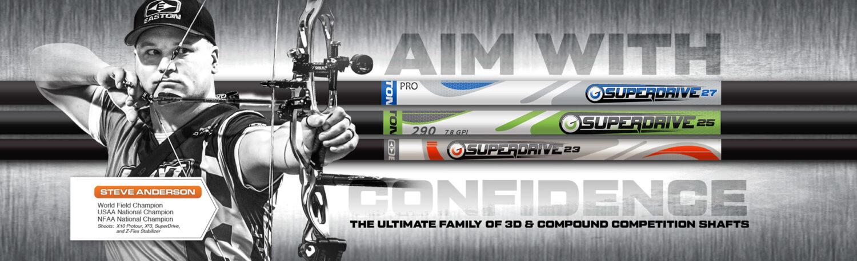 Easton 3D Arrows - Superdrive
