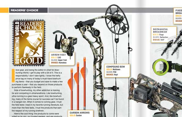 Easton Carbon Arrows Tops With Bowhunting World Readers