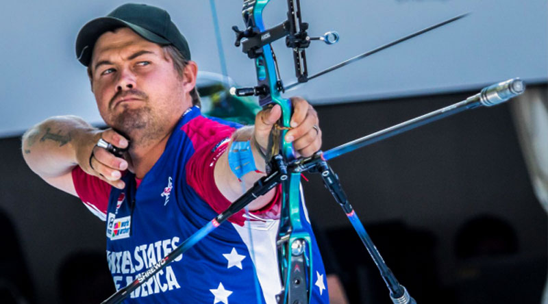 Men's Recurve – New World Record – Brady Ellison