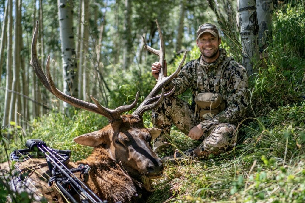 Evan with his Bull