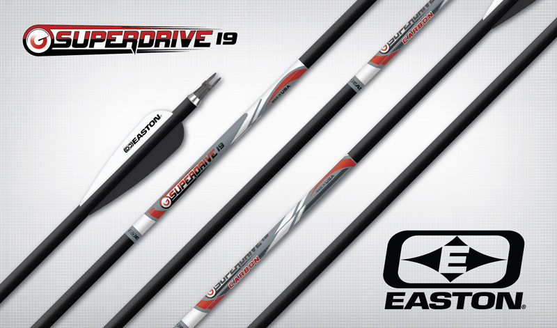 Easton Target Arrows - Superdrive 19