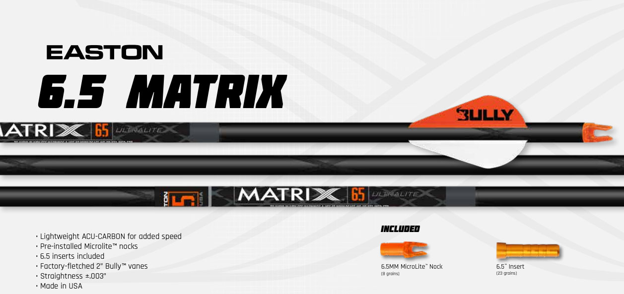 Easton Matrix Arrows