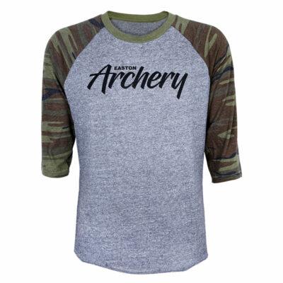 3/4 Sleeve Camo Archery Tee