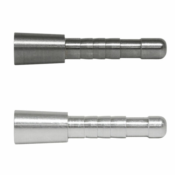 5mm Steel and Aluminum Half-out inserts
