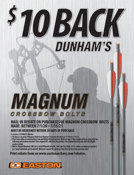 Easton Magnum Bolt Rebate