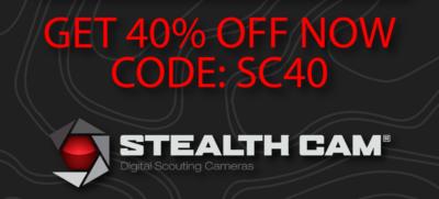 40% Off Stealthcam