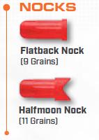 9mm Bolt Nocks