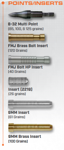 9mm Bolts Components