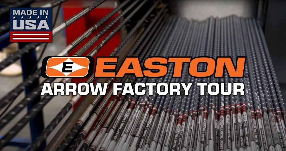 Easton Archery - Arrow Factory Tour - Arrows Made In USA