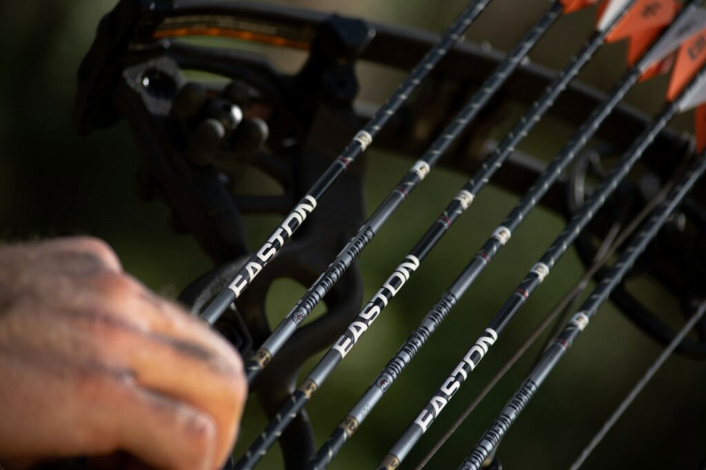 Hunter Adjusts in 4mm FMJ Arrows