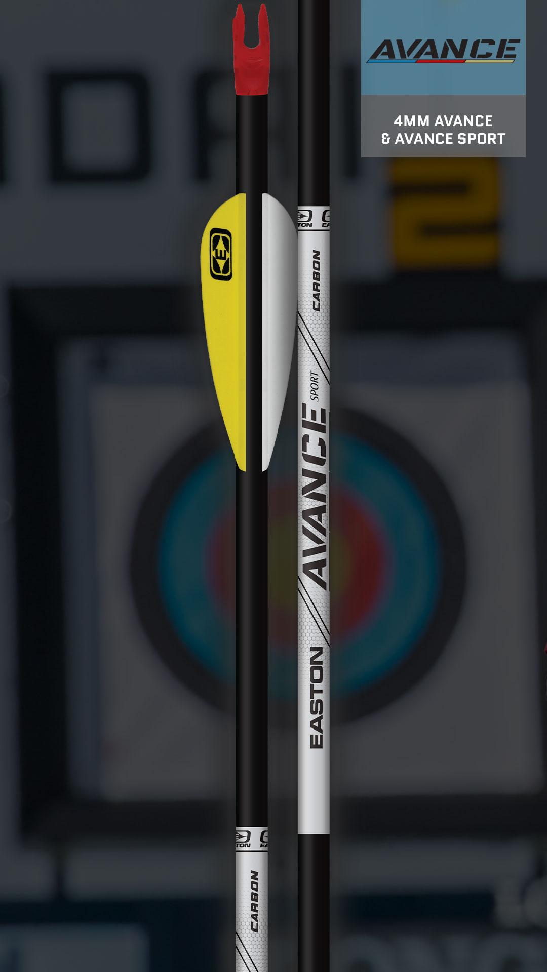 4mm Avance Target Arrows