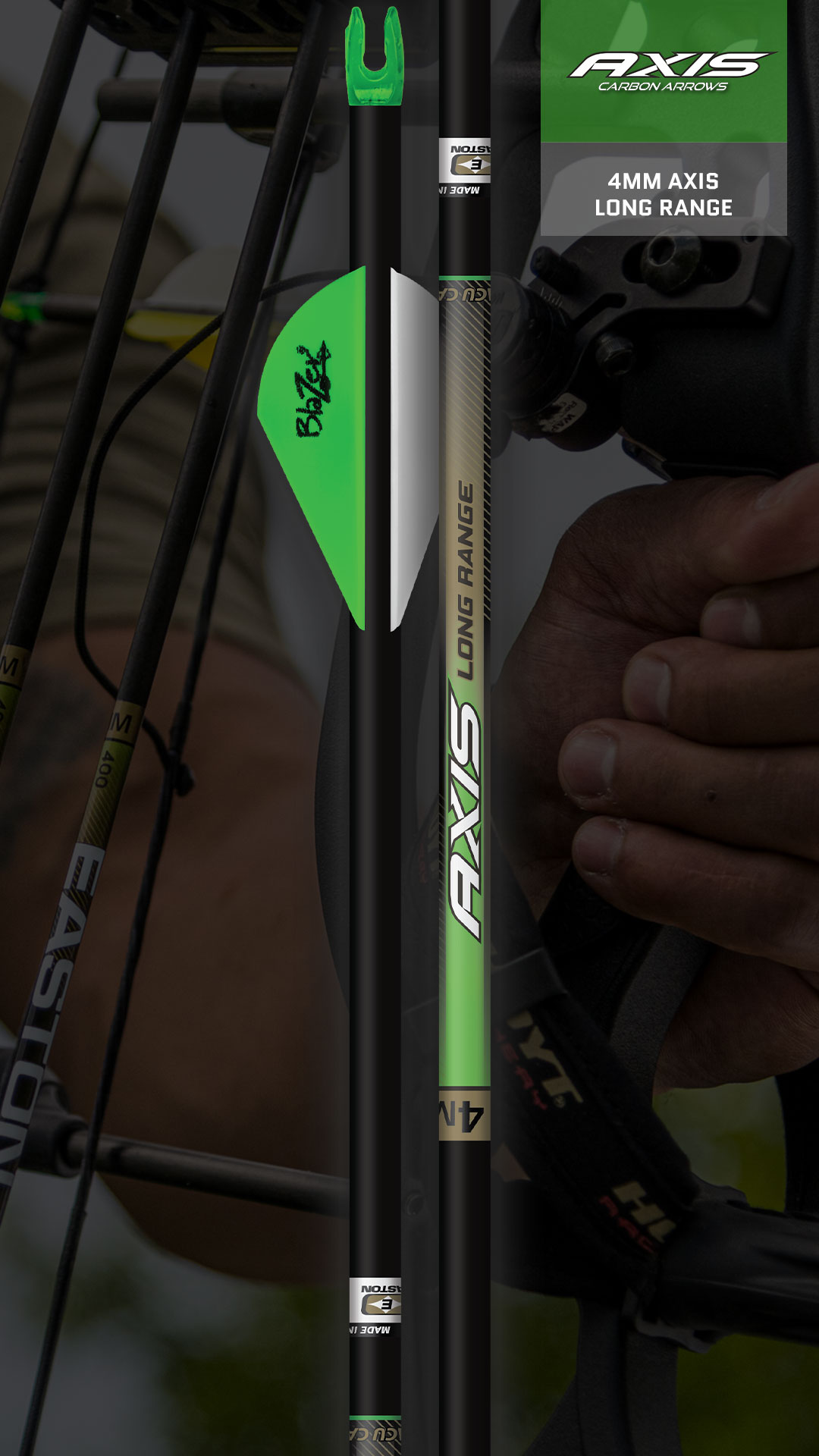 4mm Axis Arrows - Easton Hunting Arrows